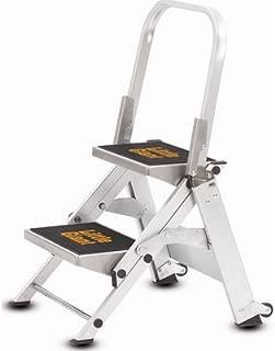 Utility Step Stool, Alum, 1-1/2ft H, 300 lb