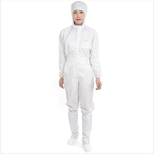 TX Indumenti di Protezione Medica Epidemici Prevenzione delle Infezioni Isolamento Siamese Crescere Abbigliamento da Lavoro, 2 Set,S