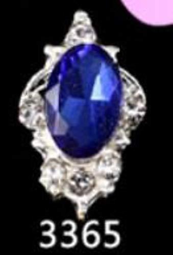 Holo Laser Diamant unregelmäßige Form Diamant l Rhinstone für Nägel Metall Schmuck 3D Nail Art DIY Charms, 3365-10 Stück