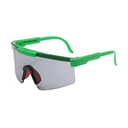 GUIH Gafas de ciclismo polarizadas, para hombre y mujer, gafas de ciclismo, béisbol, pesca, conducción de golf, polarizadas, color verde