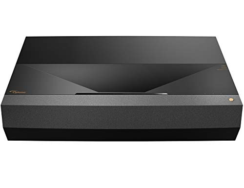 Optoma CinemaX P2 Smart 4K UHD Laser Projector for Home Theater 3000 Lumens Superior Image with Laser & 6-Segment Color Wheel