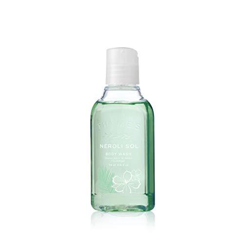 Thymes - Neroli Sol Petite Body Wash - Refreshing Luxury Shower Gel for Men & Women - Travel Size - 2.5 oz
