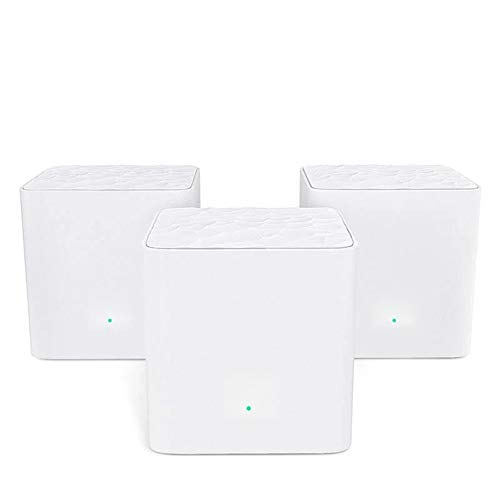 Ouqian Router Wireless Cable Mesh WiFi Router Gigabit Sistema con AC1200 2.4G...