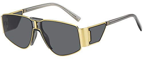 Givenchy sonnenbrille JOH 7166/S 2F7/IR Gold grau größe 59 mm Frau