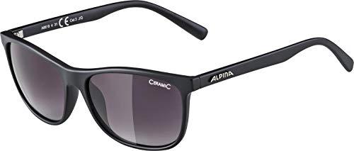 ALPINA JAIDA Sportbrille, Unisex– Erwachsene, black matt 2017, one size
