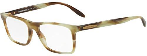 Armani GIORGIO 0AR7163 Monturas de gafas, Striped Green, 53 para Hombre