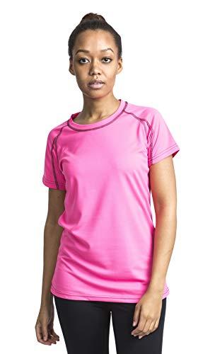 Trespass Mamo, sneldrogend sport-T-shirt met reflecterende details voor dames