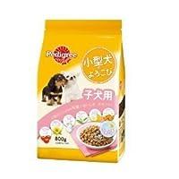 ペディグリ-小型犬のよろこび子犬(800g)×12【ケース販売】