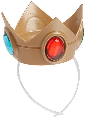 Nintendo Super Mario Brothers Princess Peach Crown and Amulet