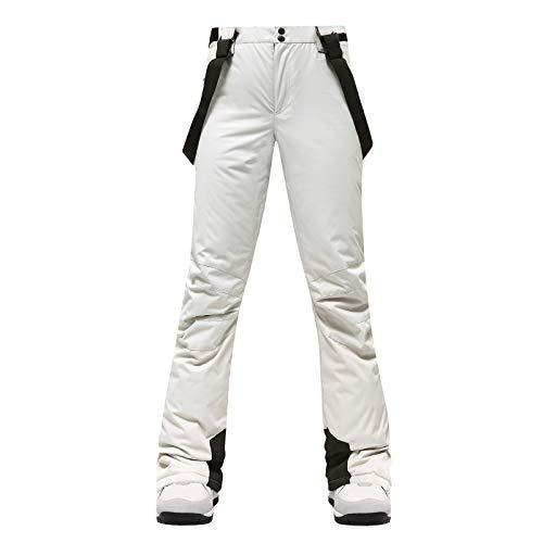 Women Winter Waterproof Insulated Snowboard Suspenders Pants Snow Ski Bib Trousers