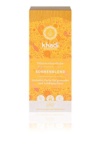 Khadi Herbal Hair - Tinte Herbal en Color Amanecer (Sunrise) 100 g