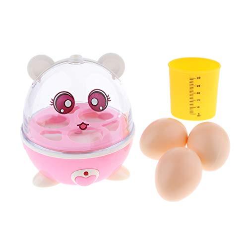 T TOOYFUL Kinderküche Haushaltsspielzeug - Elektrischer Eierkocher - Kleinkidner Küchenspielzeug