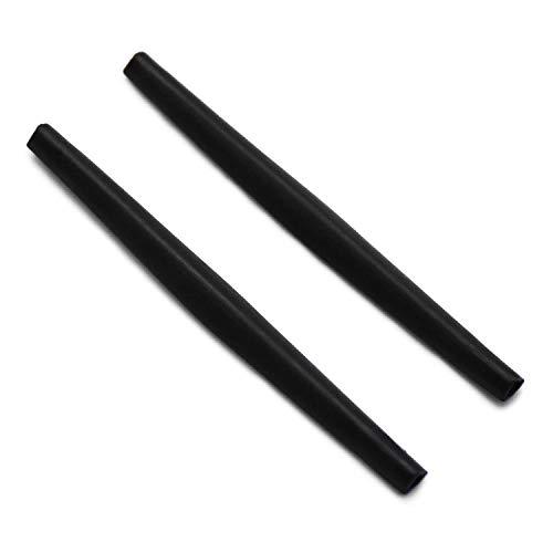 SOODASE Schwarz Ersatz Silikon Rahmenbein Gummi-Kit Für Oakley Whisker Sonnenbrille
