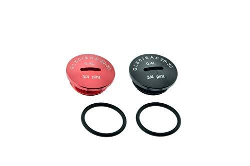 Set Verschlussschrauben ALU mit Beschriftung für Motor Simson S51 SR50 KR51/2 inkl. O-Ringe