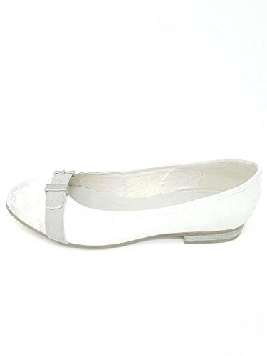 Jana Ballerine 8-22103-24 White/Silver 191 GR. 36