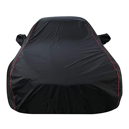 ZINIUKEJI Cubierta para automóvil SUV, Compatible con Audi Q7, Cubierta Exterior Completa Impermeable Cubierta Protectora para automóvil Resistente a la Lluvia y Nieve para Todo Clima Exterior