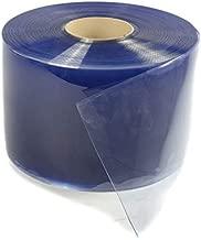in Blau Transparenz f/ür einen Streifenvorhang Industrievorhang PVC Streifen Meterware 300 x 3mm transparent- Zugeschnitten auf Ihren Bedarf Lamellenvorhang