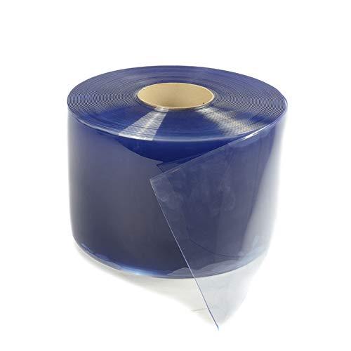 PVC Lamellenvorhang transparant 400x4mm | PVC Streifenvorhänge | Gummimatten | Verkauf pro Meter