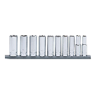 Husky 3/8 in. Drive Deep Metric Socket Set (10-Piece)-H3DDPMM10PCSR - The Home Depot