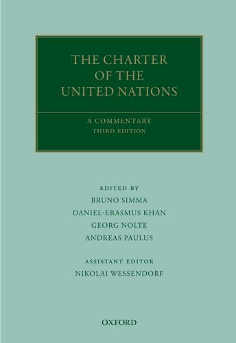 Simma, B: Charter of the United Nations (Oxford Commentaries on International Law)
