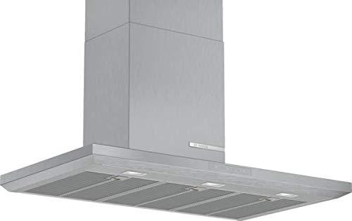 Bosch DWB97LM50 Serie 6 Wandesse / A / 90 cm / Edelstahl / wahlweise Umluft- oder Abluftbetrieb / TouchSelect Bedienung / Silence / Intensivstufe / Metallfettfilter (spülmaschinengeeignet)