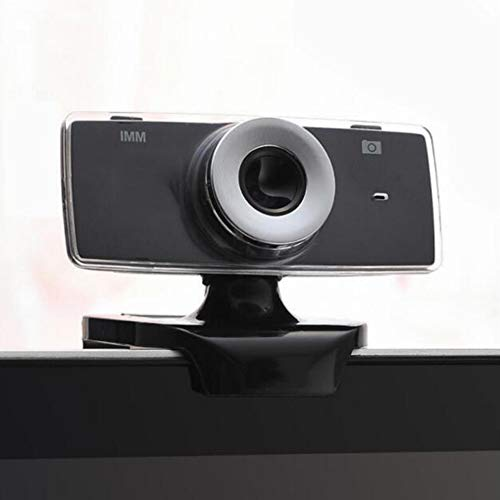 Cestbon USB Webcam met geïntegreerde microfoon, USB Driver Free HD Live Video Geschikt voor webcast/video chat/video conferencing