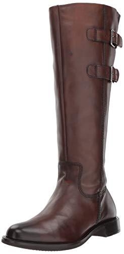 ECCO Damen Shape 25 Tall Buckle Boot Hohe Stiefel, Braun (Bison 1022), 37 EU
