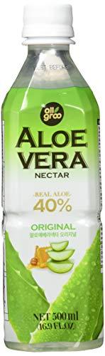 Allgroo Aloe Vera Nektar, Pur, 40% Aloe Vera, vegetarisch, pfandfrei, 1 x 500 ml