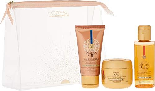 L'Oréal Professionnel Mythic Oil Trousse Format Voyage Cheveux Secs/Épais