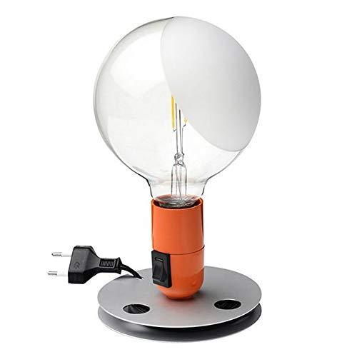 Flos Lampadina F3299075 - Lámpara de mesa, color naranja