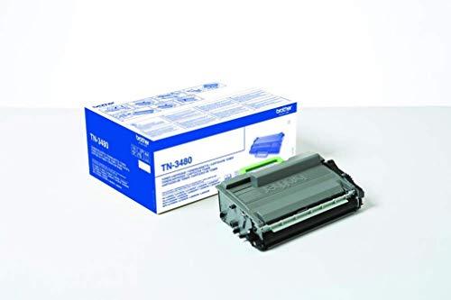 Brother Original Tonerkassette TN 3480 schwarz fur Brother HL L5000DN HL L5100DN HL L5100DNT HL L5100DNTT HL L5200DW DCP L5500DN MFC L5700DN MFC L5750DW
