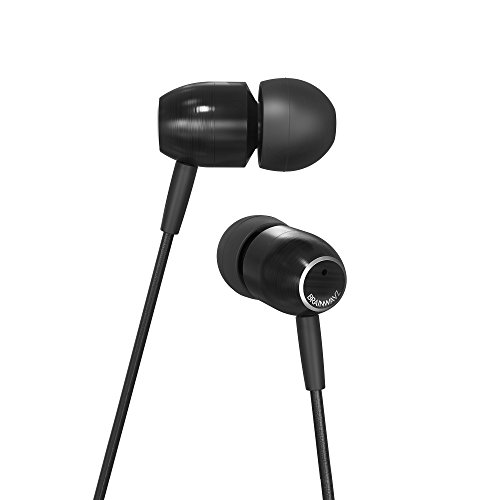 Brainwavz M5 in Ear Earbuds Noise Isolating Earphones Stereo Headphones (with Remote & Mic)