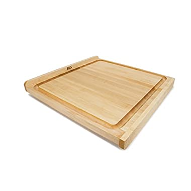 John Boos Square Reversible Maple Cutting Board 23-3/4 w/Gravy Groove