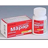 Mapap Extra Strength 500mg Caplets - 100 CT by MAJOR PHARMACEUTICALS