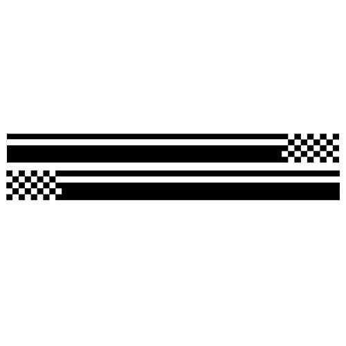MCTYLI 2 stks 150 * 8cm 3D Auto Styling Stickers Doos sport auto stickers en sticker Body Window Stickers voor universele auto sticker