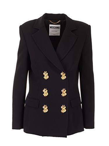 Moschino Luxury Fashion Damen J050754250555 Schwarz Blazer   Herbst Winter 19