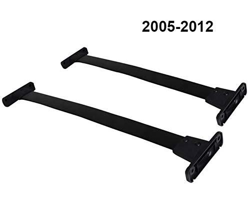JPVGIA Barras de Techo del Techo del Carril de la Barra Cruzada de Haz for Nissan Pathfinder 2005-2020 Espesar aleación de Aluminio (Color : Old 2005 to 2012)