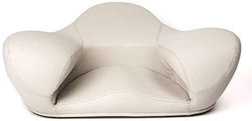 Alexia Meditation Seat (Light Grey, Vegan Leather)