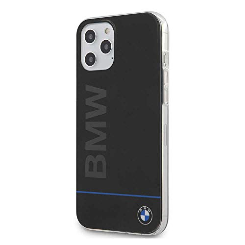 Carcasa iPhone 12 / 12 Pro Licencia BMW Letras Negro