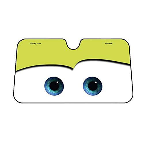 Visière Universelle de Voiture, Rayons UV de Couverture d'ombrage de modèle Mignon pour des Enfants des Animaux domestiques (Taille: 130X70CM) ~0609 (Color : Yellow)