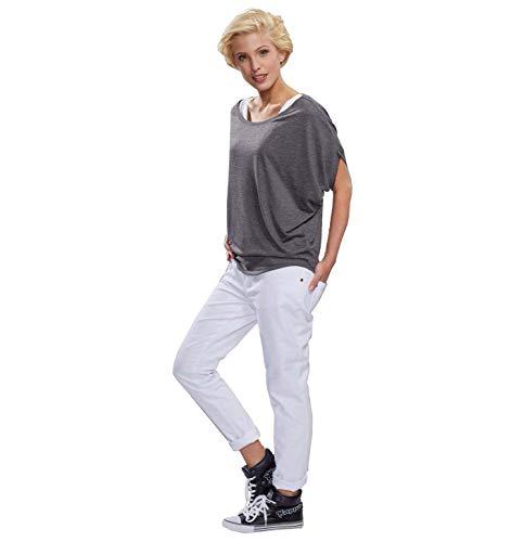 Whitewear Baumwollhose Debbi weiß Gr. 38