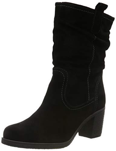 Tamaris Damen 1-1-26083-23 Hohe Stiefel, Schwarz (Black 1), 37 EU
