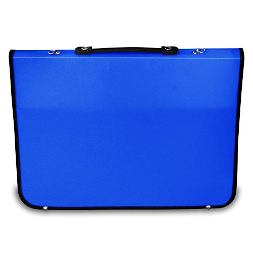 Artcare 1521240094x 4x 66.5cm A1Academy Portfolio in Materiale Sintetico, Blu Royal