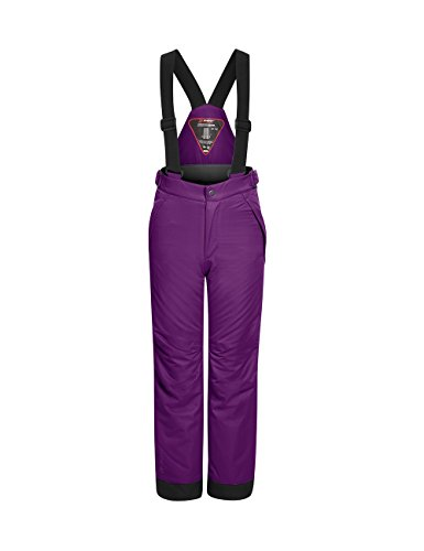 Maier Sports Kinder Maxi Slim Skihose, Dark Purple, 152