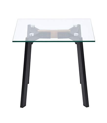 CaliCosy salontafel met glasplaat