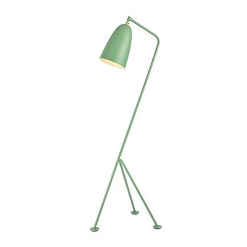 Lampara de pie Diseñador forjado hierro lámpara de pie con el trípode ajustable de estar Sala de Estudio macarrón soporte de iluminación LED de luz de interior moderna E27 Decoración hogareña acogedor