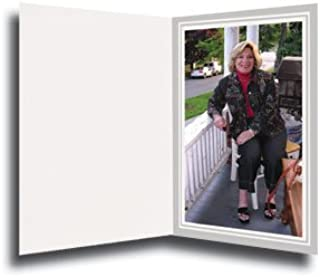 Cardboard Photo Folder for a 8x10 Photo (Pack 0f 50) Light Gray