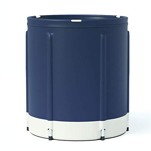 YQDSY Bañera Portátil Plegable Engrosamiento para Adultos Bañera Portátil Plegable Bañera de Baño Spa Bañera Fácil Instalar Fácil Instalar Bañera inflable/F / 80x80cm
