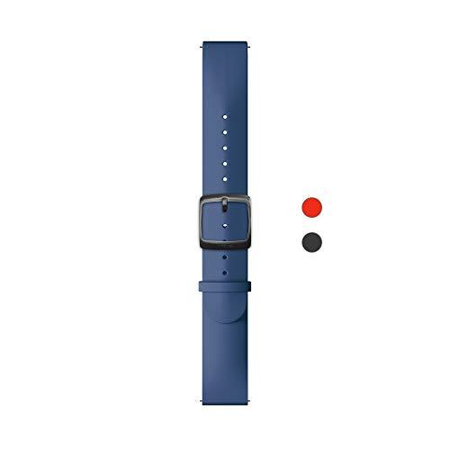 Withings Erwachsene Silikonarmband, Blau & Sport Schnalle, 20 mm