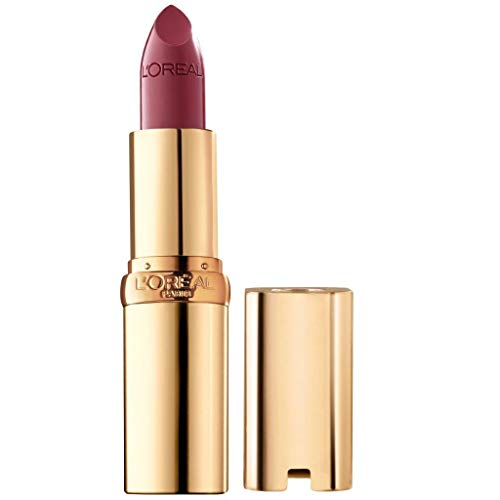 L'Oreal Paris Makeup Colour Riche Lipstick, Creamy Satin Finish, Infused with Hydrating Ingredients, Lipstick for Soft Moisturized Lips
